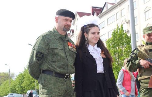 Алексей Борисович Мозговой на параде 9 мая 2015 г.