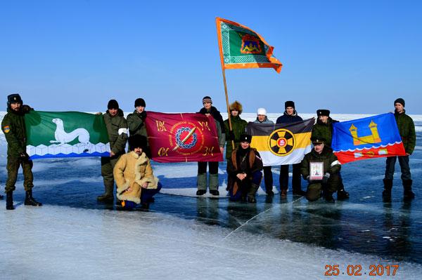 Байкальский ледяной переход 2017