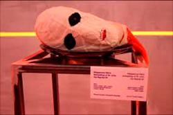 """Кощунственная выставка в Манеже в Москве. Экспозиция под названием: """"Голова св. Иоанна Предтечи"""""""