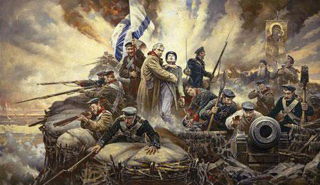 Оборона Севастополя 1854 г.