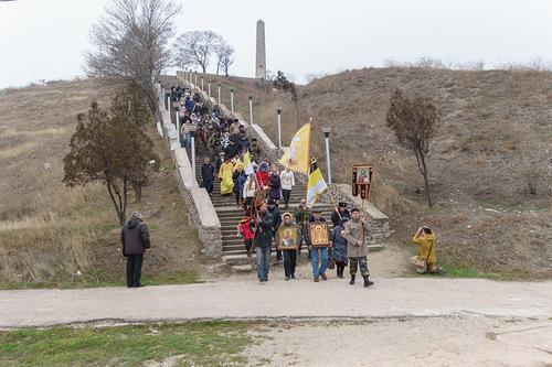 рестный ход в пам¤ть –усского »схода. 16 но¤бр¤ 2014 года