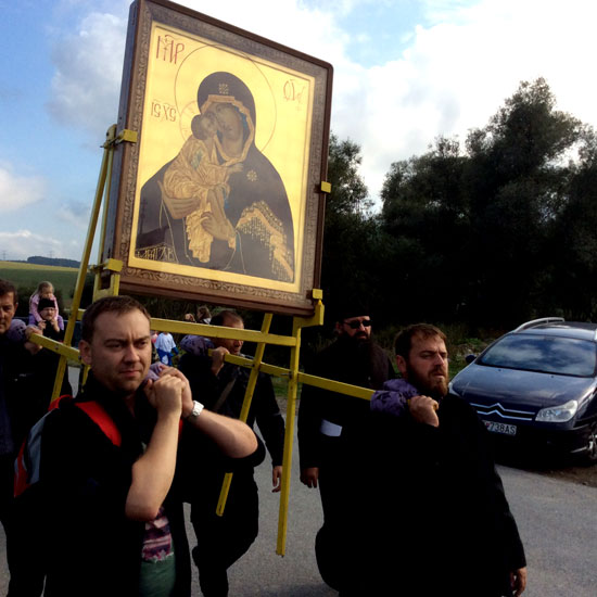 Крестный ход по Сербии