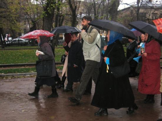 Крестный ход в Москве 2010