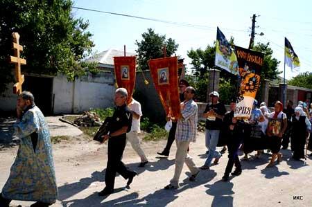 17 июля 2013 г. в городе - герое Севастополе прошел Крестный ход