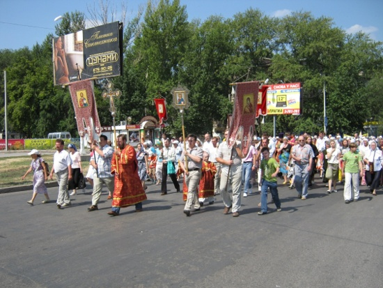 Покаянный Крестный ход в Самаре