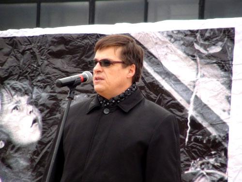 Русский Марш 2014 Самара. Председатель СГО Союз Русского Народа Вадим Воробьев
