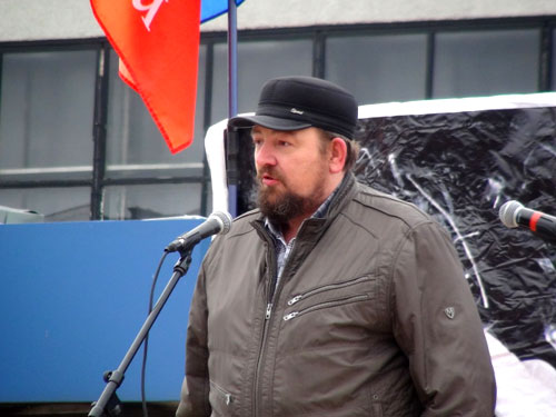 Русский Марш 2014 Самара. Игорь Павлин