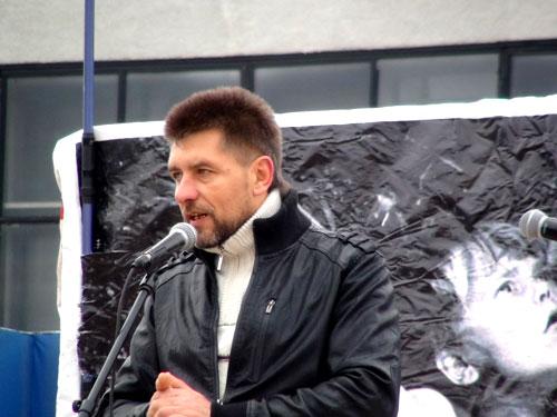 Русский Марш 2014 Самара. Беженец из Донбасса