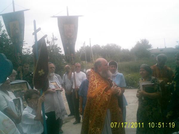 Крестный ход в селе Преслав (Малороссия)